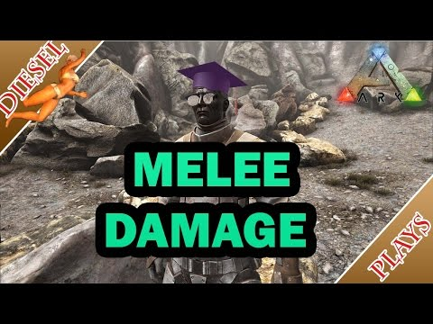 ARK HAPPENED - ALL ABOUT MELEE DAMAGE! - YouTube