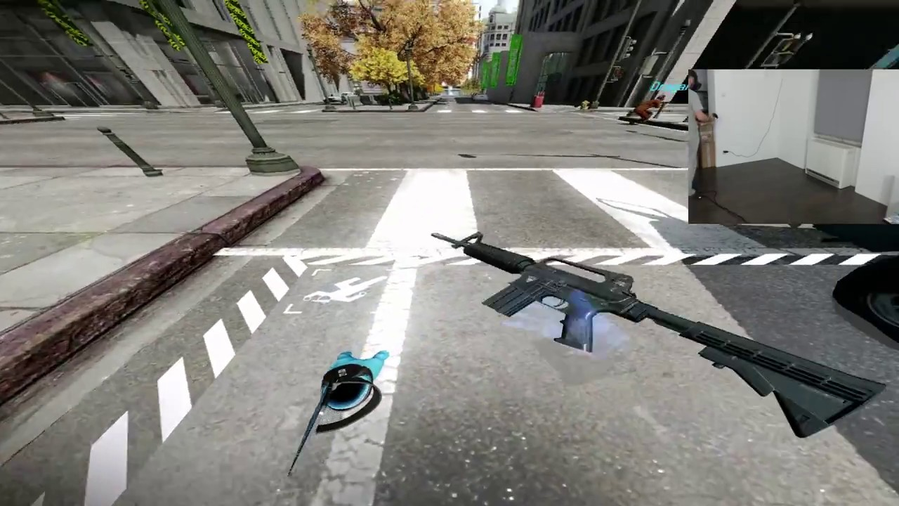 PAYDAY 2 VR – Napad na bank! HTC VIVE VR