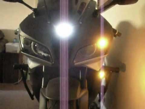 Sick 08 600RR #2 Custom Built SICK 55w HID / Bi-Xenon Projector Headlights by Sick HIDs