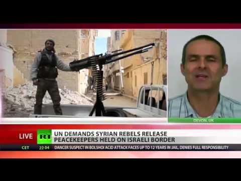 UN Peacekeepers still kept hostage by Syrian Rebel Islamists