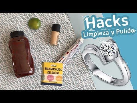 5 Hacks Limpieza De Joyería :: Como Limpiar Plata Y Oro :: Chuladas Prácticas