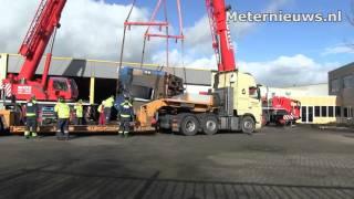 Treinstellen ongeval Dalfsen in Meppel  klaar voor onderzoek