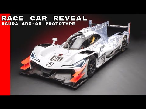 Acura ARX-05 Prototype Race Car Reveal