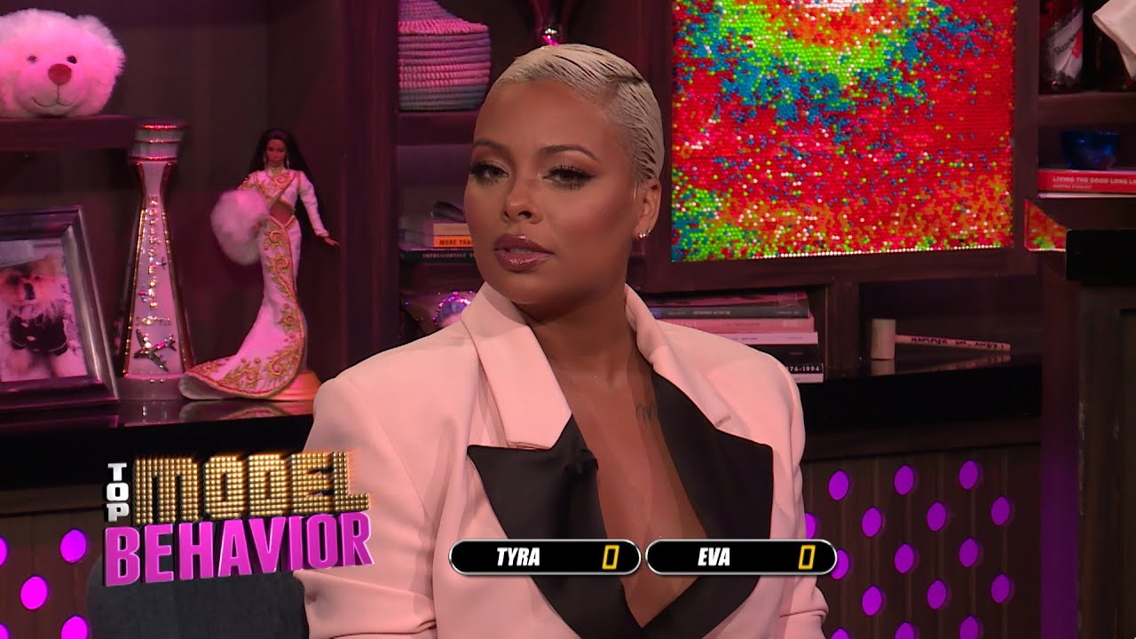 Does Tyra Banks or Eva Marcille Have a Better Smize?