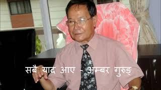 Amber Gurung Nepali Modern Song सबै याद आए
