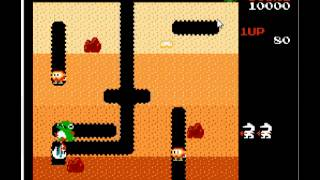 Dig Dug Family Computer Video Game for PC