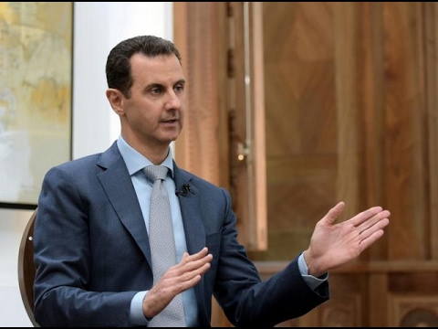 Thumbnail: Assad destroys western lies about 13,000 executions (interview 2-16-17) مقابلة الرئيس الأسد