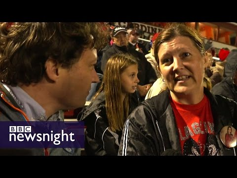 The Trump fans of Ohio: Gabriel Gatehouse reports - BBC Newsnight