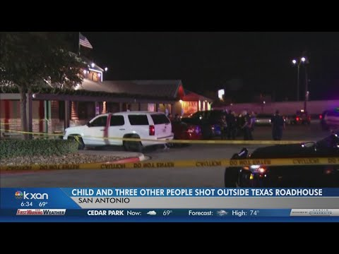 6-year-old boy, 3 adults shot at San Antonio restaurant parking lot