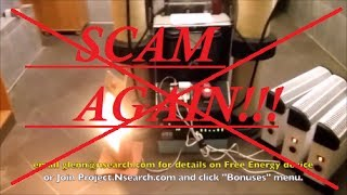 FREE ENERGY GENERATOR FOR SALE SCAM Be Aware!! (Thanks Vida em Silicio)