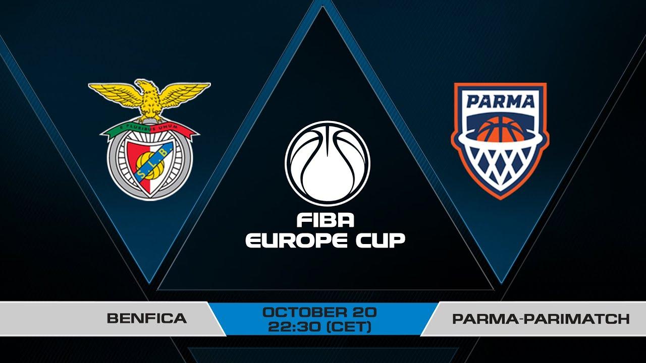 LIVE - Benfica v Parma-Parimatch | FIBA Europe Cup 2021-22