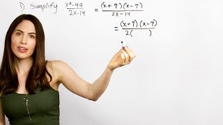 Simplifying Rational Expressions... How? (NancyPi)