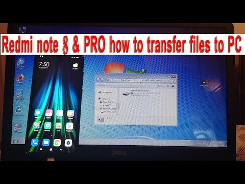Xiaomi redmi note 7 how to connect and transfer files and photos to pc computer.