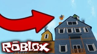 THROWING THE NEIGHBOR!! (Roblox Hello Neighbor)
