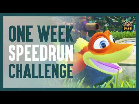 SEASON FINALE! 7 days of ssspeedrunning life as a snake