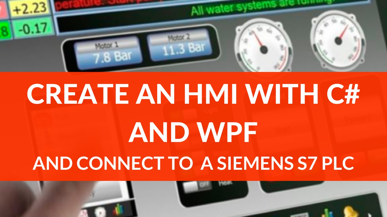 HMI with C# and WPF part 1: getting started with MVVM and