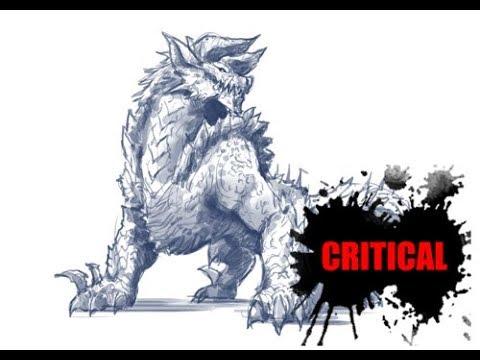 [그리다]드로잉 - 몬스터헌터-진오우거 - 그림 그리기 [Grida] Monsterhunter  Drawing Zinogre Speed Drawing