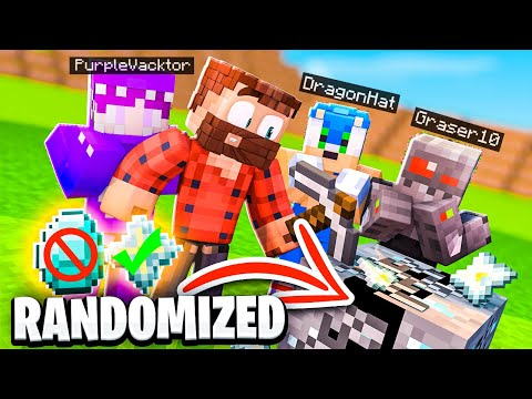 So I Competed in a Randomized Minecraft Hunger Games against other YouTubers