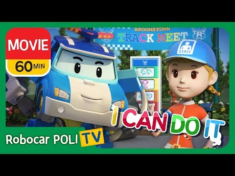 Robocar Poli MOVIE | I can do it! | 60min