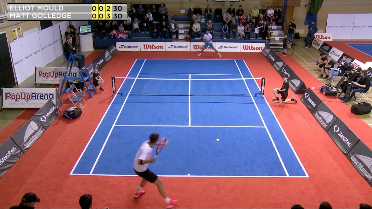 The Top 5 Rallies Of 2016 Touchtennis Youtube