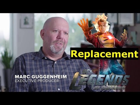 Marc Guggenheim Talks Firestorm Replacement on Legends of Tomorrow
