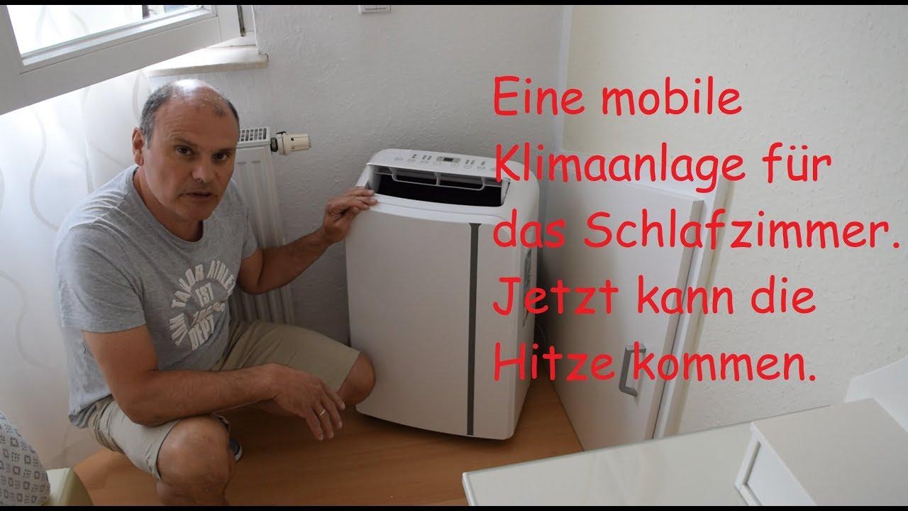 Mobile Klimaanlage im Haus einbauen.