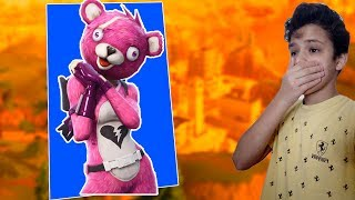 I BOUGHT the PINK BEAR SKIN AT FORTNITE-{ManoMadruguis}