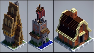 64 Chunk-Houses - Minecraft 1/2
