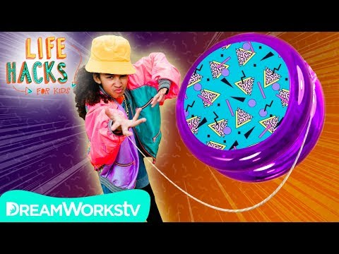Yo-Yo Hacks and Other Old School Toys | LIFE HACKS FOR KIDS