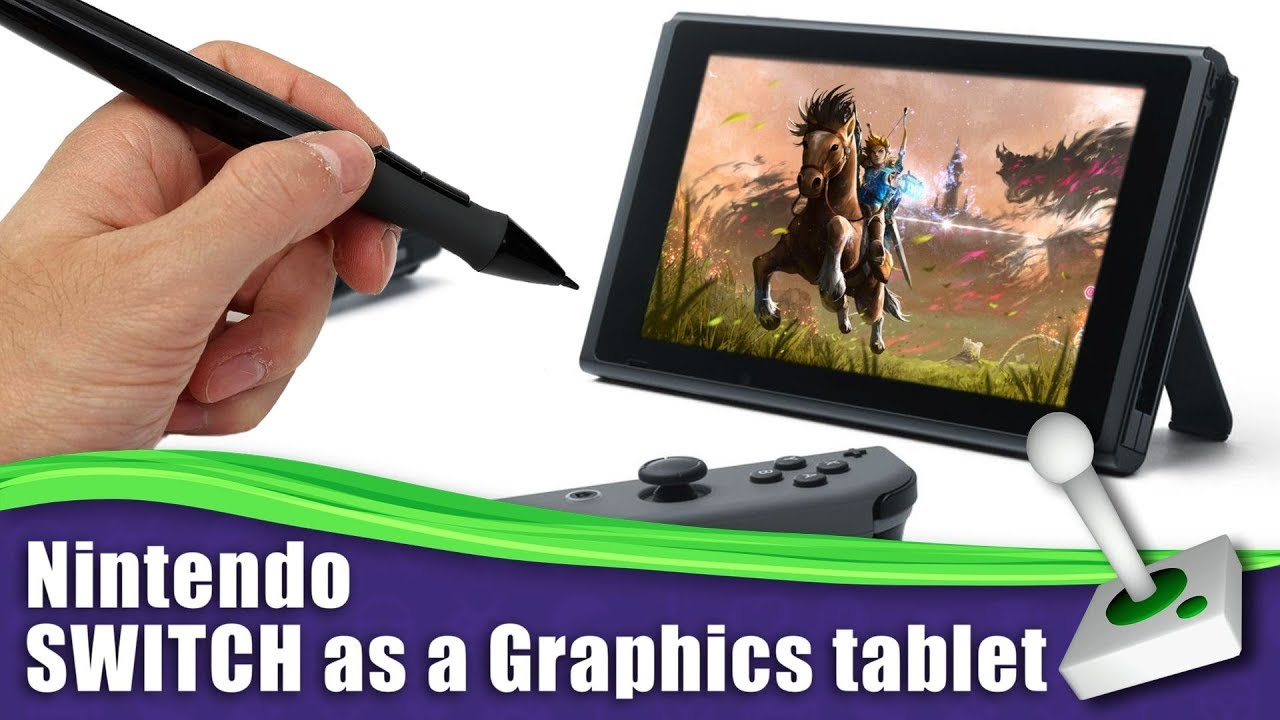 Nintendo Switch As A Graphics Art Tablet The Switch Files Youtube