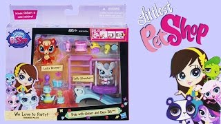 Littlest Pet Shop We Love to Party! Themed Park