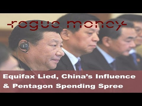 Rogue Mornings - Equifax Lied, China's Influence & Pentagon Spending Spree  (09/19/2017)