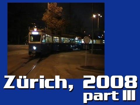 Zürich villamosai, 3. rész / Trams in Zürich, pt. 3