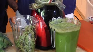 Tribest Slowstar Juicer Review with Jay & Linda Kordich