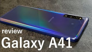 Galaxy A41レビュー 動作/ベンチマーク/バッテリー/カメラ等を検証