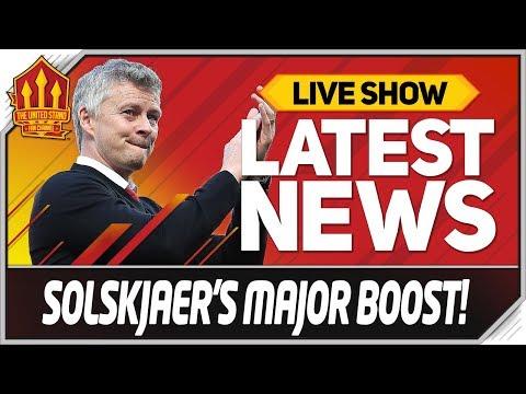 Solskjaer's De Gea Contract Boost! Man Utd News Now