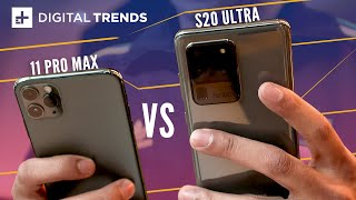 Samsung Galaxy S20 Ultra vs. Apple iPhone 11 Pro Max | Comparison