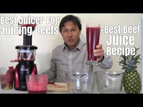 Best Juicer for Juicing Beets + Best Beet Juice Recipe