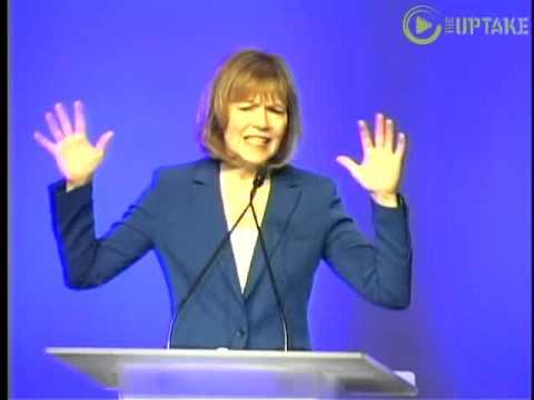Lt. Gov. Candidate Tina Smith Addresses DFL Convention