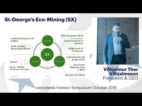 [FULL PRESENTATION] Cassiopeia Investor Symposium October 2019: St Georges Eco-Mining (CSE:SX)