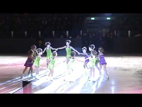 schaatsshow anisha K.S.S.O
