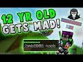 12 YEAR OLD KID CALLS ME A NOOB?! ( Hypixel Skywars FUNNY MOMENTS )