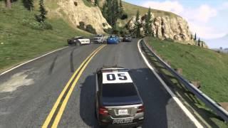 GTA V | Police pursuit | Officer Down!