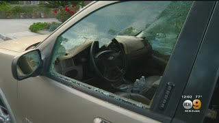 70 Cars Damaged By Vandal With BB Gun In Whittier