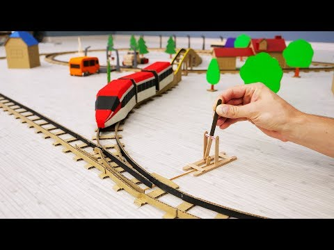 DIY Incredible Railway With Train Track Changes