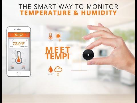 Tempi - Smart Temperature and Humidity Monitoring
