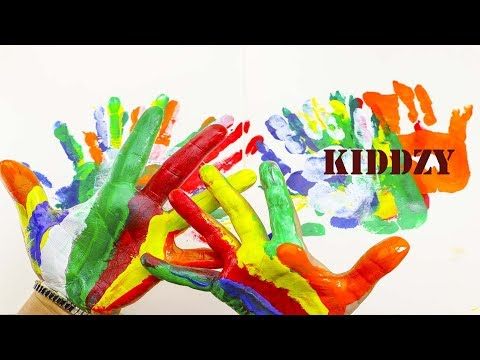 Epic Hand Painting Technique for Kids | Easy Hand Coloring Creative Fun Art Projects