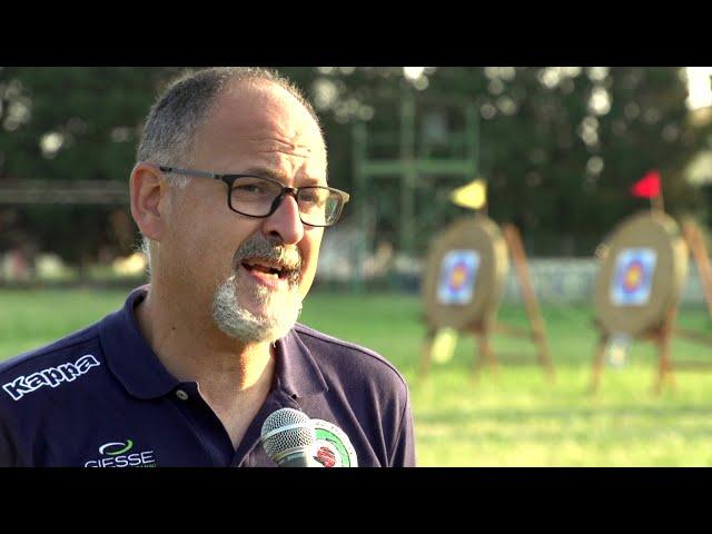 Il coach del compound della Nazionale Para-Archery Antonio Tosco