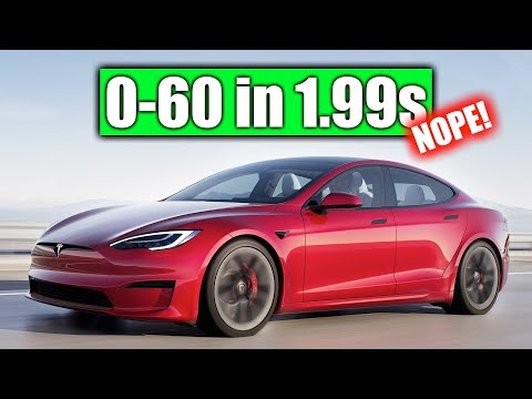 No, Tesla Can't Hit 60 MPH In Under 2 Seconds (Model S Plaid)