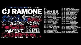 CJ Ramone - Let's Go - American Beauty - 2017 Tour Video